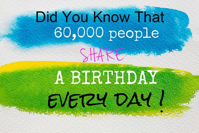 60,000 Reasons Why You Should Do Birthday Marketing