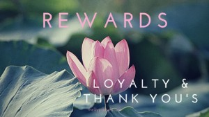 Rewards programs and thank-yous for your client list