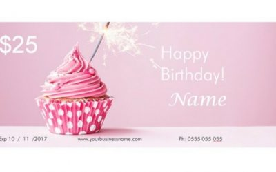 How To Download and Edit Your Free Birthday Vouchers